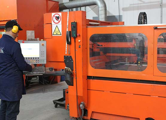 Laser cutting Moderne Metal